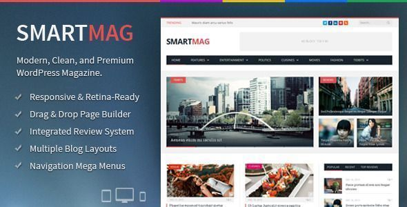 Descargar Smartmag - Plantilla de Wordpress - Themes y plugins