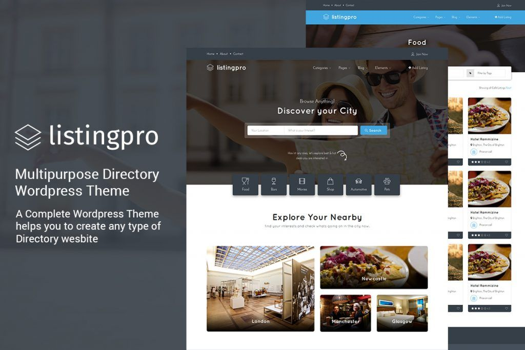 Descargar ListingPro - Tema de Wordpress - Themes y plugins